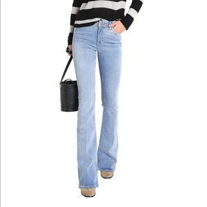 M.I.H JEANS Marrakesh faded high-rise jeans